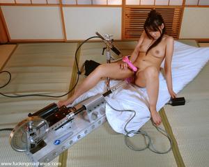 Sex machine porn. Four Japanes girls get - XXX Dessert - Picture 2