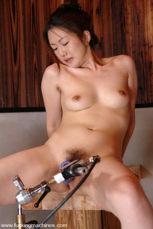 Sex machine porn. Four Japanes girls get - XXX Dessert - Picture 11