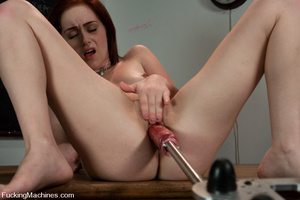 Sex machine sex. Naughty student gets ma - XXX Dessert - Picture 7
