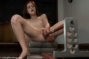Sex machine sex. Naughty student gets ma - XXX Dessert - Picture 8