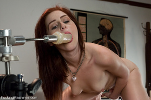 Sex machine sex. Naughty student gets ma - XXX Dessert - Picture 12