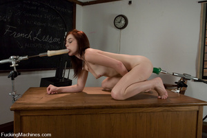 Sex machine sex. Naughty student gets ma - XXX Dessert - Picture 13