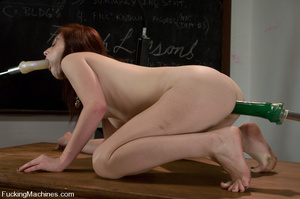 Sex machine sex. Naughty student gets ma - XXX Dessert - Picture 15