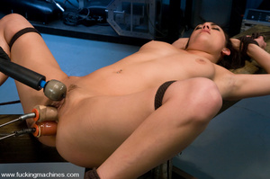Free sex machines. Dirty blonde gets bou - XXX Dessert - Picture 9