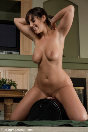 Machine sex galleries. Brunette with big - XXX Dessert - Picture 14