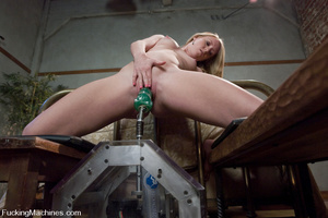 Sexmachines. Brand new hot red head gets - XXX Dessert - Picture 3
