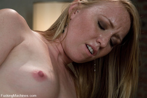 Sexmachines. Brand new hot red head gets - XXX Dessert - Picture 6
