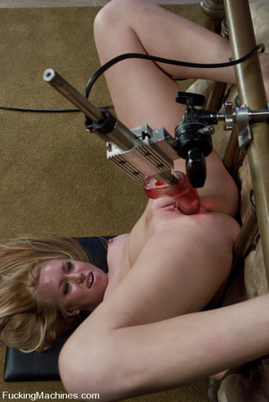 Sexmachines. Brand new hot red head gets - XXX Dessert - Picture 15