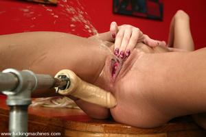Fuck machines. Lesbian action wth Kylie  - XXX Dessert - Picture 6