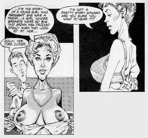 Porncartoon. Story of giant cock. - XXX Dessert - Picture 3