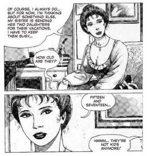 Cartoon sex. Noble women and their dirty - XXX Dessert - Picture 2