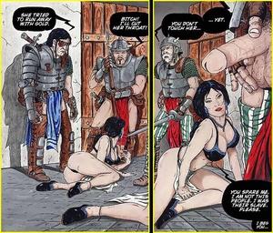 Toon porn. Invaders are fucking brunette - XXX Dessert - Picture 4