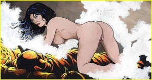 Adult comics. Man is licking woman pussy - XXX Dessert - Picture 5