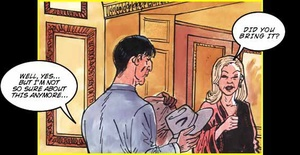 Comics porn. Adultery is a good reason f - XXX Dessert - Picture 1