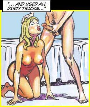 Sexy comics. Girl is recollecting her se - XXX Dessert - Picture 5