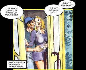 Porn comics. Jerkoff story. - XXX Dessert - Picture 2