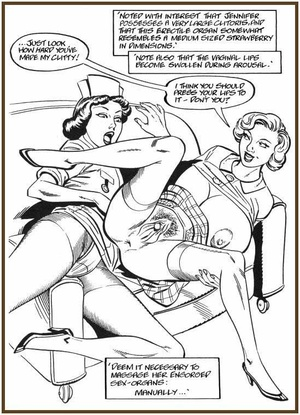 Sexy comics. Pussy to pussy. - XXX Dessert - Picture 5
