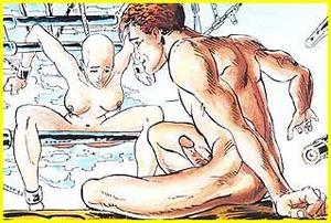 Cartoon porno. Cruel sex. - XXX Dessert - Picture 1