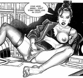 Porn comics. The quest for the first erotic book on Earth.