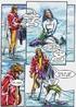 Adult cartoons. A winter tale.