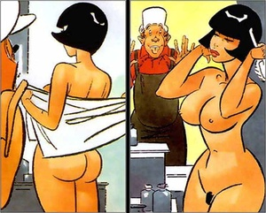 Adult comix. The erotic show. - XXX Dessert - Picture 4