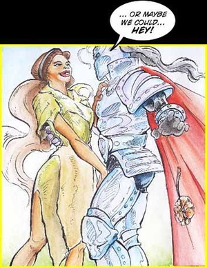 Porn comix. Sex with knight. - XXX Dessert - Picture 3