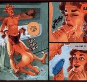 Cartoon sex comics. In the space.