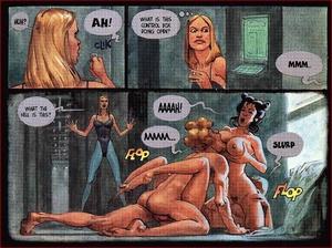 Cartoon sex comics. In the space. - XXX Dessert - Picture 5