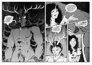 Comics porn. Nude witch. - XXX Dessert - Picture 3