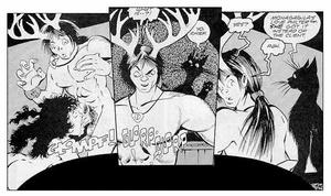 Comics porn. Nude witch. - XXX Dessert - Picture 4