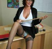 Round ass sexy teacher big tits