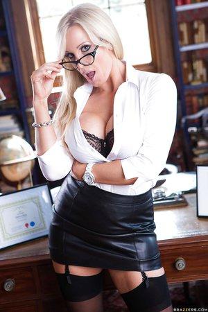 British hot busty teacher