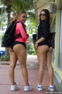 Ass porn. Two of the finest asses you will see at any gym. Come and watch