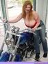 hot redheads biker babe