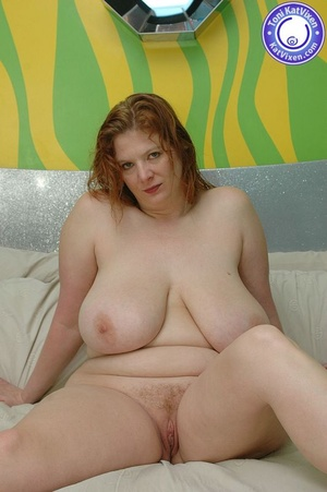 Fat women sex. Busty redhead holding her - XXX Dessert - Picture 7