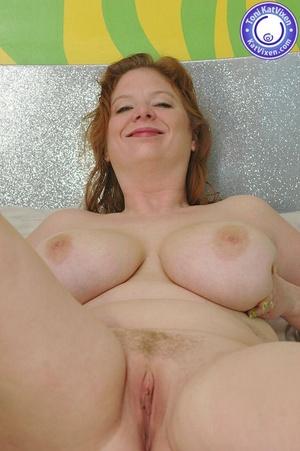 Fat women sex. Busty redhead holding her - XXX Dessert - Picture 11