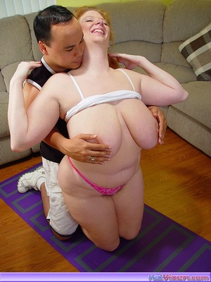 Bbw woman. Horny Redhead Gets Her Pussy  - XXX Dessert - Picture 16