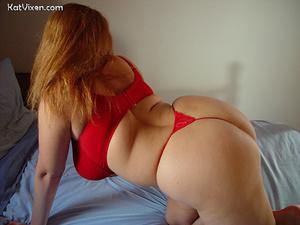 Fat girls. Horny Toni KatVixen Pulls On  - XXX Dessert - Picture 6