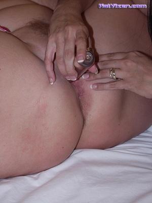 Fat women sex. Horny Toni KatVixen Finge - XXX Dessert - Picture 15