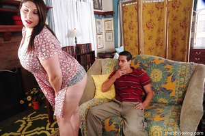 Chubby mature massage