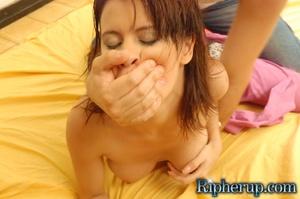 Hard porn. Redhead gets her clothes ripp - XXX Dessert - Picture 5