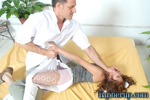 Hard sex. Horny stud rips off Latinas pa - XXX Dessert - Picture 5