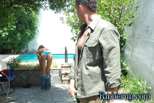 Roughsex. Cock tease gets clothes ripped - XXX Dessert - Picture 2
