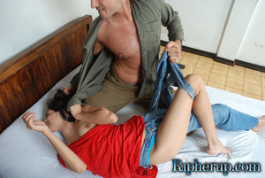 Roughsex. Cock tease gets clothes ripped - XXX Dessert - Picture 7