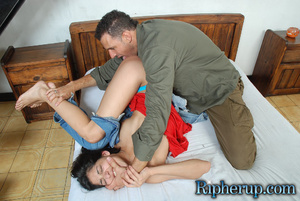 Roughsex. Cock tease gets clothes ripped - XXX Dessert - Picture 8