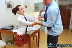 Rough sex porn. Teen babe in handcuffs g - XXX Dessert - Picture 3
