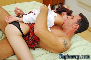 Rough sex porn. Teen babe in handcuffs g - XXX Dessert - Picture 14