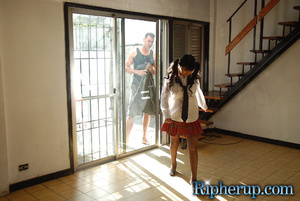 Roughsex. Pool man goes nuts for schoolg - XXX Dessert - Picture 3