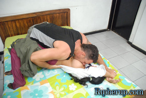 Roughsex. Pool man goes nuts for schoolg - XXX Dessert - Picture 6