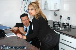 Roughsex. Stunning blonde has her clothe - XXX Dessert - Picture 2